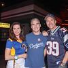 Una and Steve Battaglia with Rick Barclay