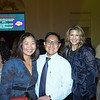 Huannie and Ted Shen with Margaret Thomas