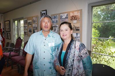 Isaac Hung and Shirley Jagels