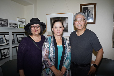 Miriam Quan, Shirley Jagels and Raymond Quan