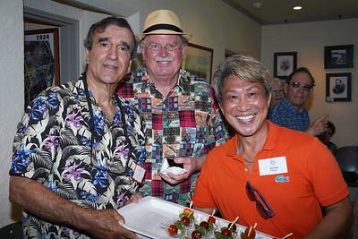 Dennis Magrdichian, Bob Houston and Ed Tom