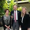 Rotary President Fang Ho, Lu de Sylva and keynote speaker Dr. Gaelen Stanford-Moore