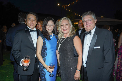 Steven and Lindsey Huang, Gretchen Shepherd Romey and Michael Romey