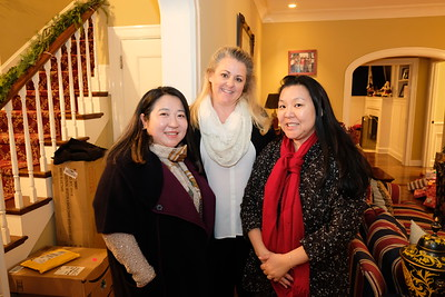 Diana Han, Jill Werden and Carol Chung