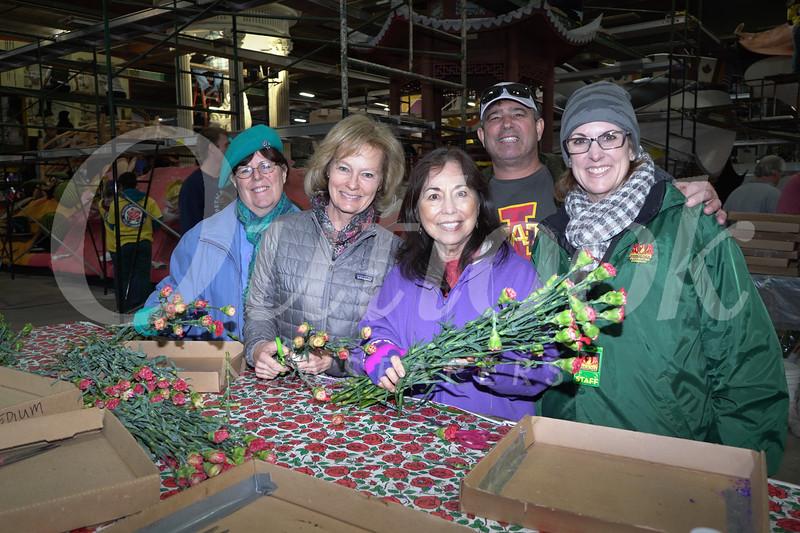 Lynn Pilchak, Thelma Henderson, Marla Alders, Richard Hanna and Beth Alpine