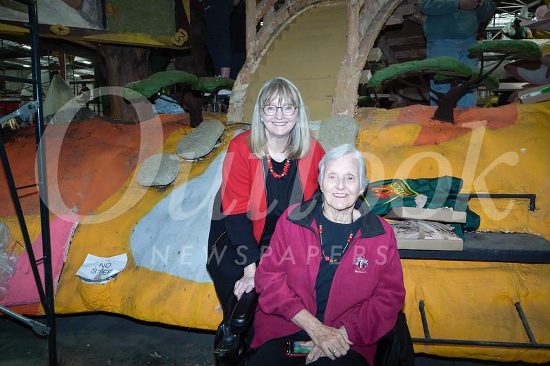 Sarah Babcock and Gwen Babcock