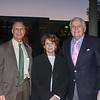 Loren Kleinrock, speaker and Huntington Library President Karen Lawrence and Jim Angelos