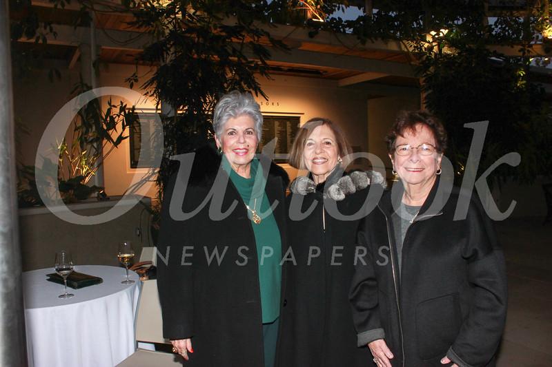Barbara Kral, Sophia Angelos and Leah Pastis