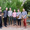 The Jeremy Lappitt Sextet: Ido Meshulam, Anders Swanson, Adam Bravo, Sam Webster, Lappitt and Aaron Janik