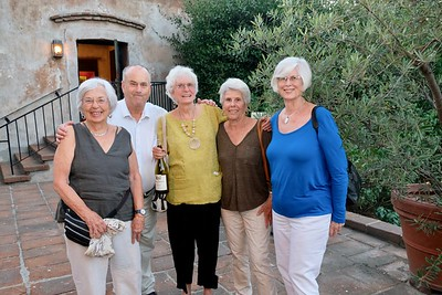 Jackie and James Knowles, Kate Berman, Diane Zaepfel and Sharon Larman