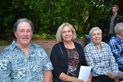 Charles and Susan Thomas with Kay Campbell