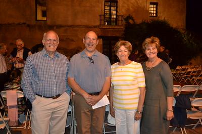 Bill Gardner, John Dustin, Connie Morris and Susan Jakubowski