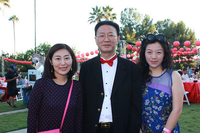 Kelly Qi, George Tao and Vivian Liu