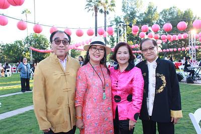 Jim and Lisa Tsai with Stela and Stephen Cheng