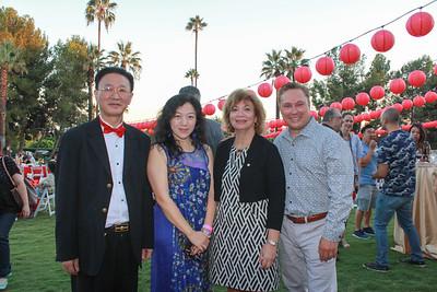 George Tao, Vivian Liu, Elaine Gamer and Paul Leclerc