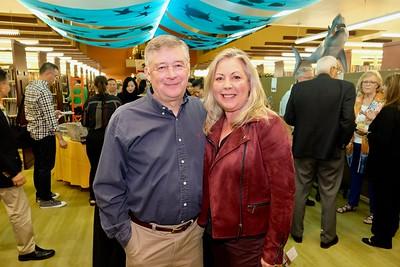 Michael Romey and San Marino Vice Mayor Gretchen Shepherd Romey