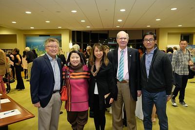Hal Suetsugu, Diana Han, Sandra Chen Lau, Chris Norgaard and James Lau