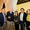 Library Foundation President Hal Suetsugu, Jim Fitzgerald, Lois Derry, Calvin Lo and Debra Sadun