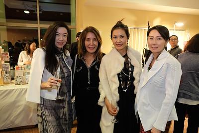 Sharon Lin, Mei Mei Liu, Annie Hou and Michelle Liu
