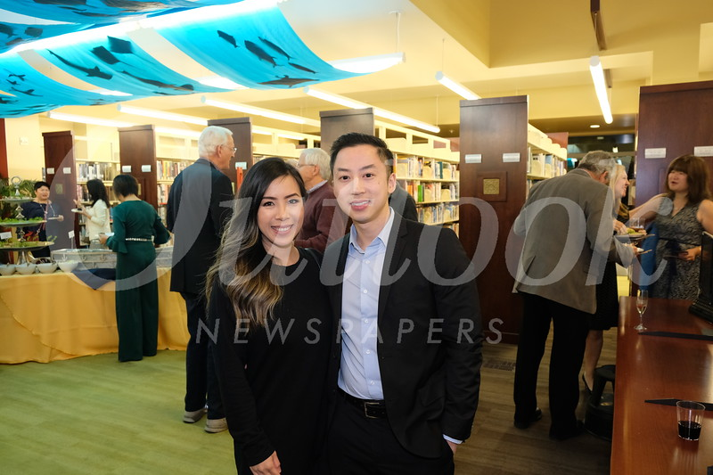 Julie Phan and Toan Nguyen