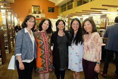 Connie Knott, Arax Mansourian, Jennifer Chen, Michelle Chee and Tina Siu