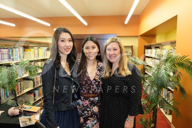 Tina Feng, Linda Wu and Karla Domier