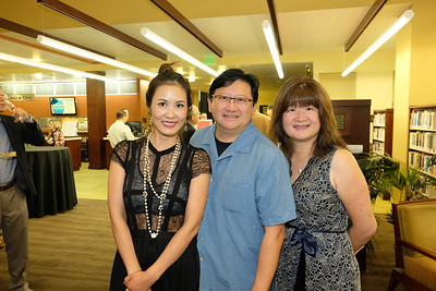 Annie Hou with David and Lisa Wang