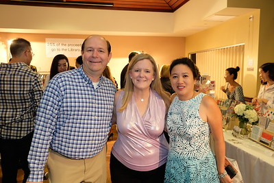 Corey and Jennifer Barberie with Jackie Chuang