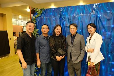 Alan Chen, Wei Lin Jiang, Karen Wu, San Marino Mayor Steven Huang and Michelle Liu
