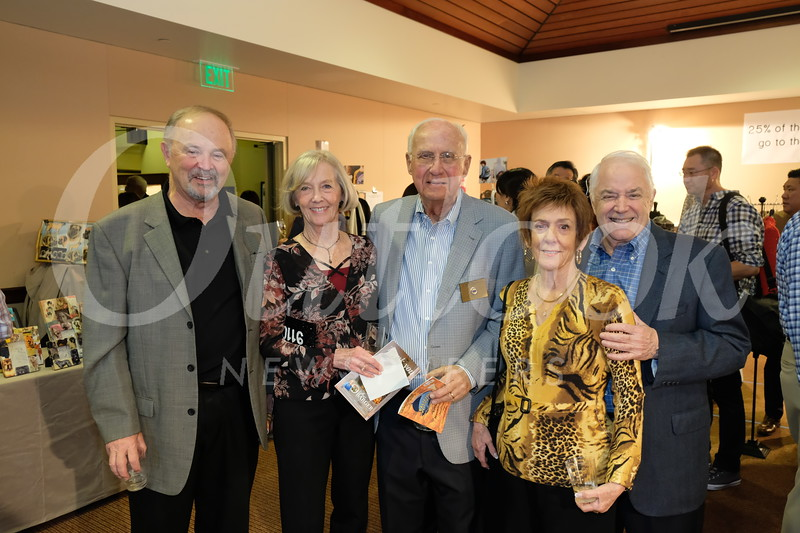 Chuck Patterson, Nancy and Eldon Swanson, and Susie and Don Norberg