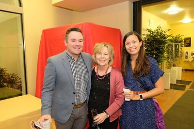 Stuart and Hillary Dorsey with Karla Robertson