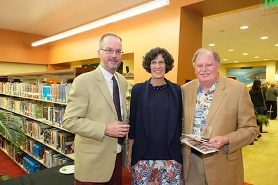 John Ryan, Kim Siegmund and Bob Houston