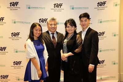 Honoree and family: Natalina, Frank, Chun-Yen and Nathaniel Chen