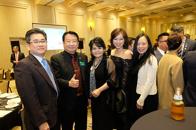 Dennis Wong, West Covina Mayor Tony Wu, Chun-Yen Chen, Karen Yu and Wendy On