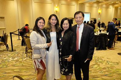 Lorraine Sun, Yvonne Tran, and Ivy and Richard Sun