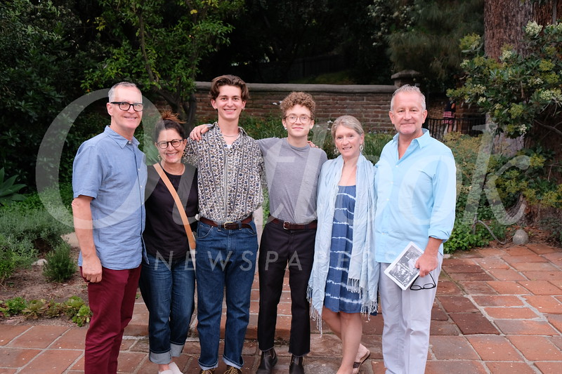 Rod, Linda and Ethan Dean with Tom, Kate and Pat Amsbry