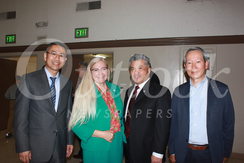 Michael Lin, Denise Wadsworth, Frank Chen and Shody Chow