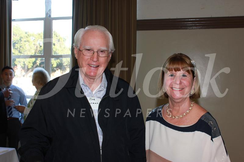 Joe Gorman and Marlene Evans