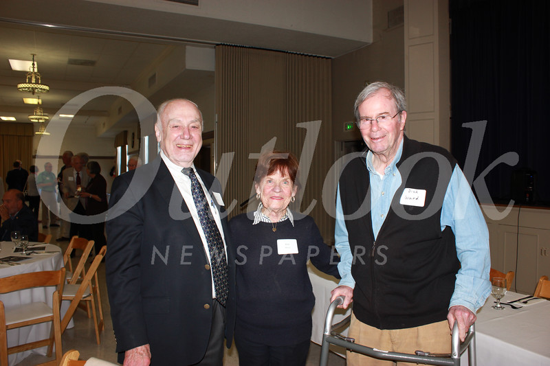 Ken Riley with Ann and Dick Ward