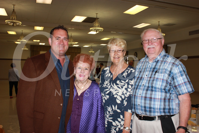 Jay Fuerst, Lucille Norberg, Donna and Bill Mann