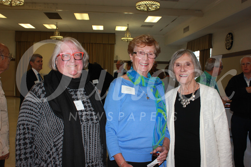 Sally De Witt, Glenda Gardner and Jean Willhite