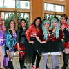 """Valentine parents, including Maria Manibog, Cindy Yung, Celina Duffy, Zeina Daoud, Stacy Seow, Rosemary Lay and Luyi Khasi, dressed as characters from the movie """"The Greatest Showman."""""""