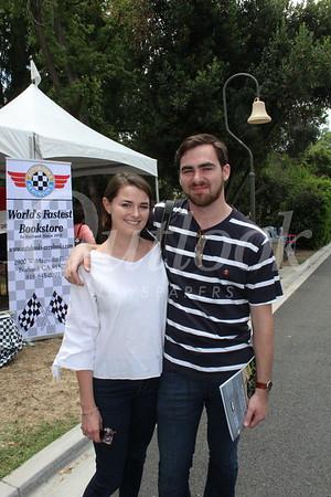 Zoe Miller and Pierce Twohig