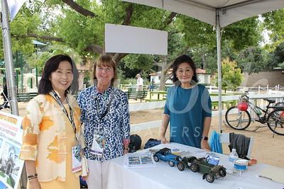 Elizabeth Kho, Marlene Evans and Catherine Shen