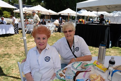 Lucille Norberg and Donna Mann