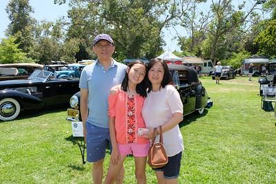 Todd, Elin and Sandra Jiang