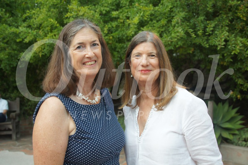 11  Old Mill Foundation Executive Director Cathy Brown and Deborah Lennon