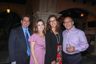 David and Myrna McLane, Alexandra Brousseau and Fred Sohl