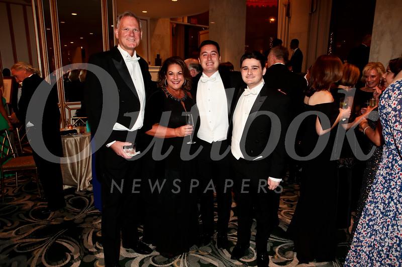 Steve and Angela McLaren with Jack and Alex Samartin