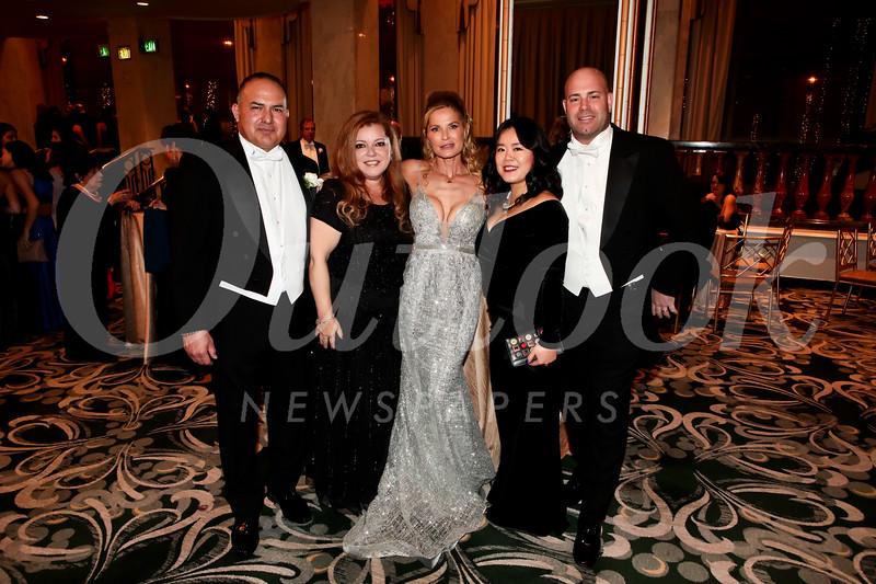 Max and Jennifer Torres, Michele Brookman, and Eva and Michael Hogan